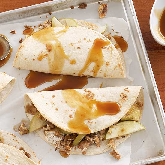 Brie-Apple Quesadillas