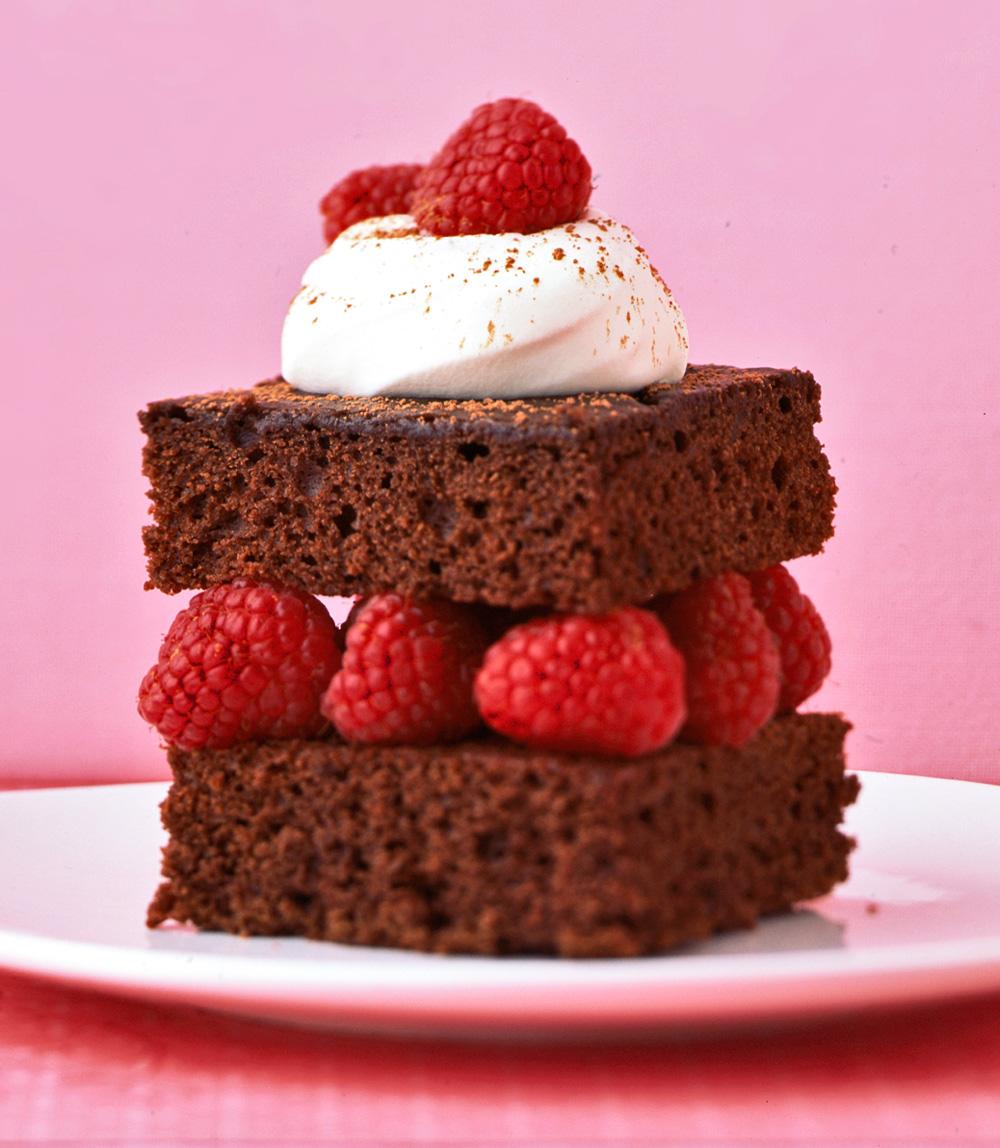 Heavenly Devil's Food Cake
