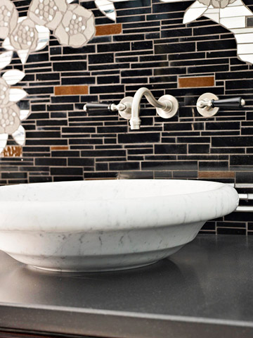 Accent with tile