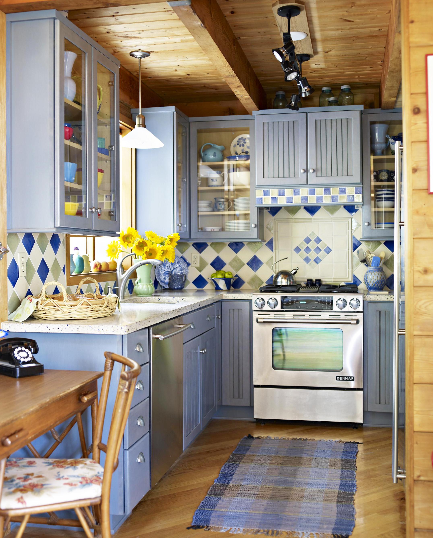 Kitchen updates add color