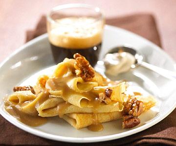 Caramel Apple Crepes