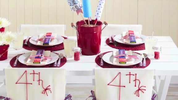 One-Minute Inspiration: Fourth of July Entertaining