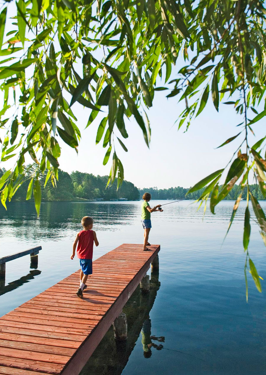 Cool for kids: Minocqua, Wisconsin