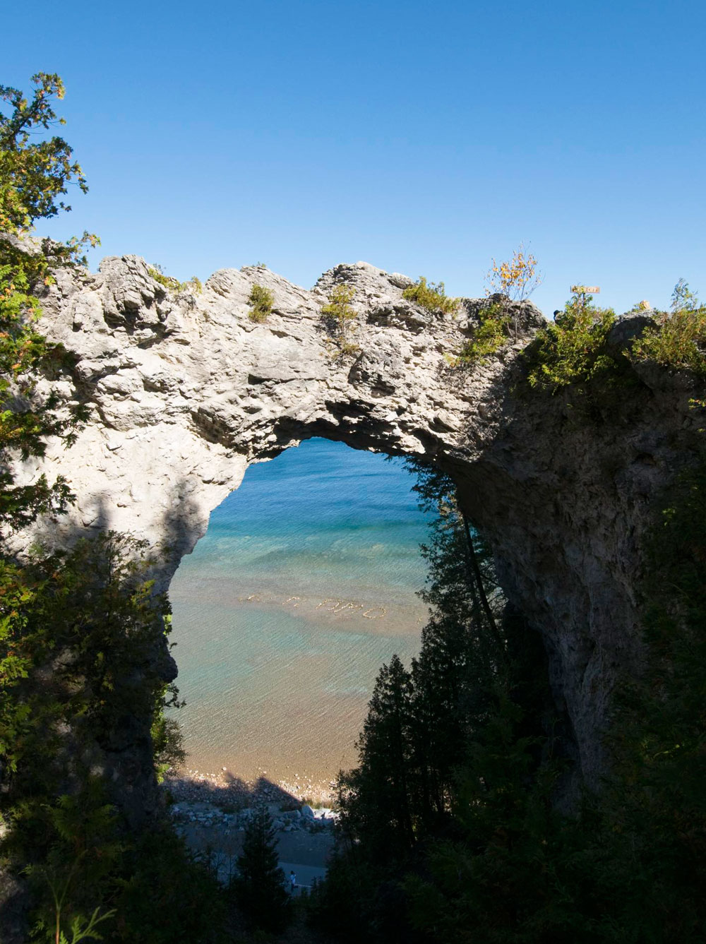 More cool island attitude: Mackinac Island, Michigan
