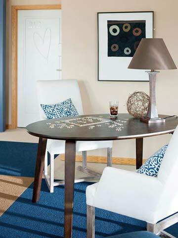 Great-room: Cozy corner