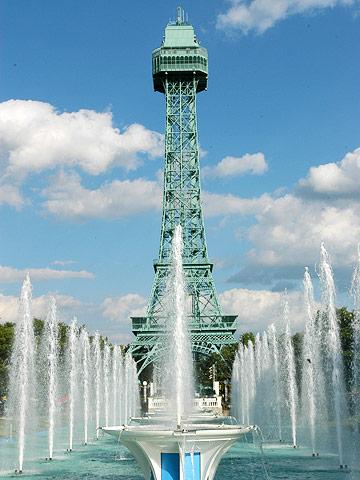See Cincinnati from the Eiffel Tower