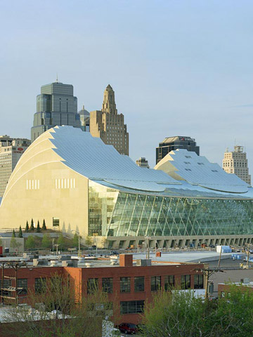 Kansas City, Missouri: Kauffman Center for the Performing Arts
