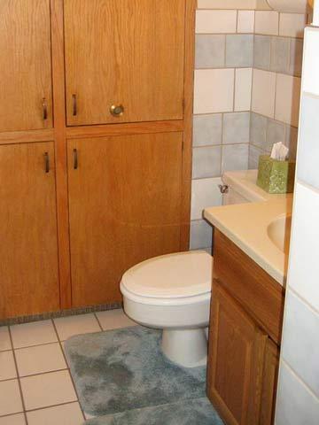 Bathroom: Before