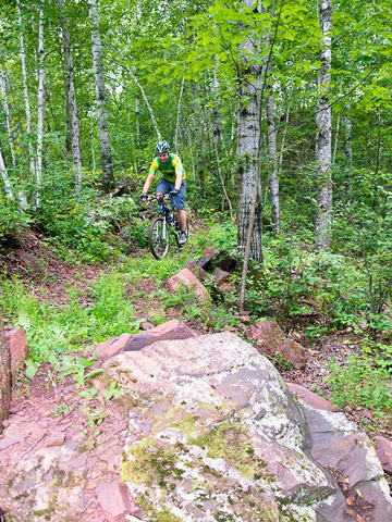 Ironton, Minnesota: Cuyuna Country State Recreation Area