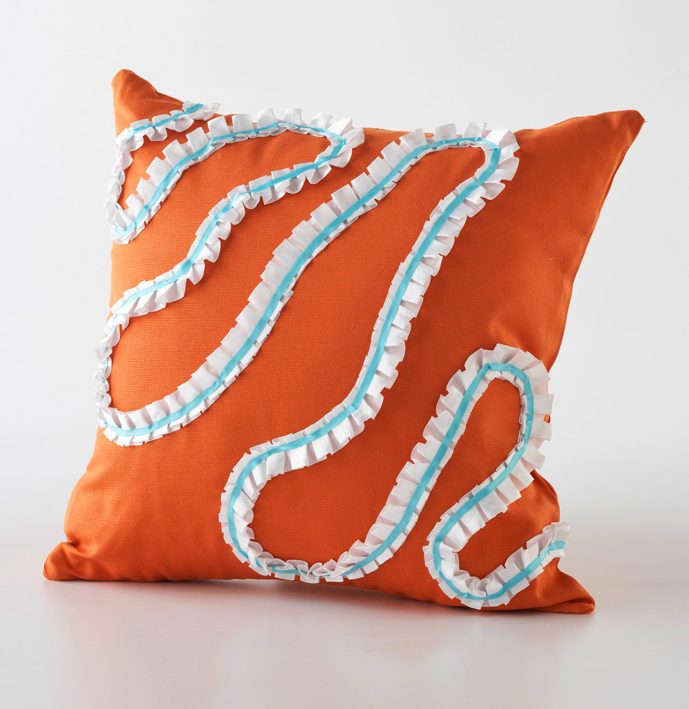 No-sew pillow project