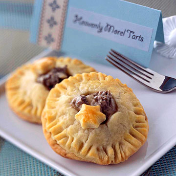 Heavenly Morel Tarts