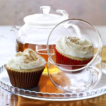 Fragrant Chai Cupcakes