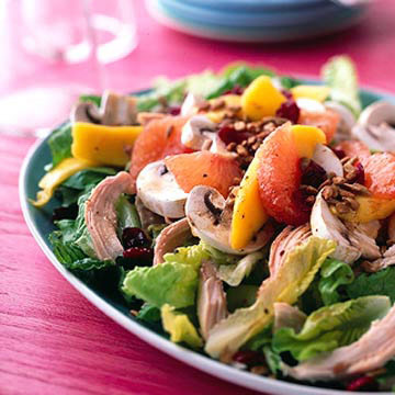 Chicken-Romaine Salad