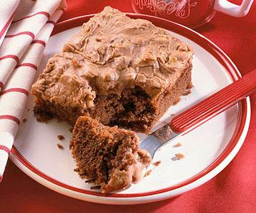 Cocoa-Cola Cake