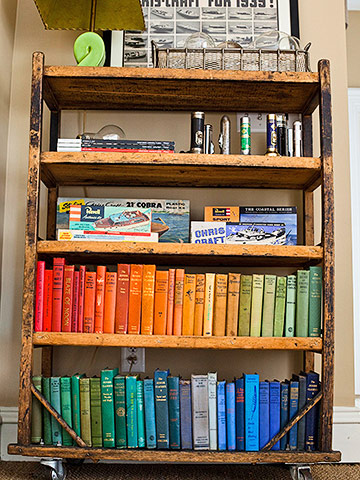Bookcase groupings