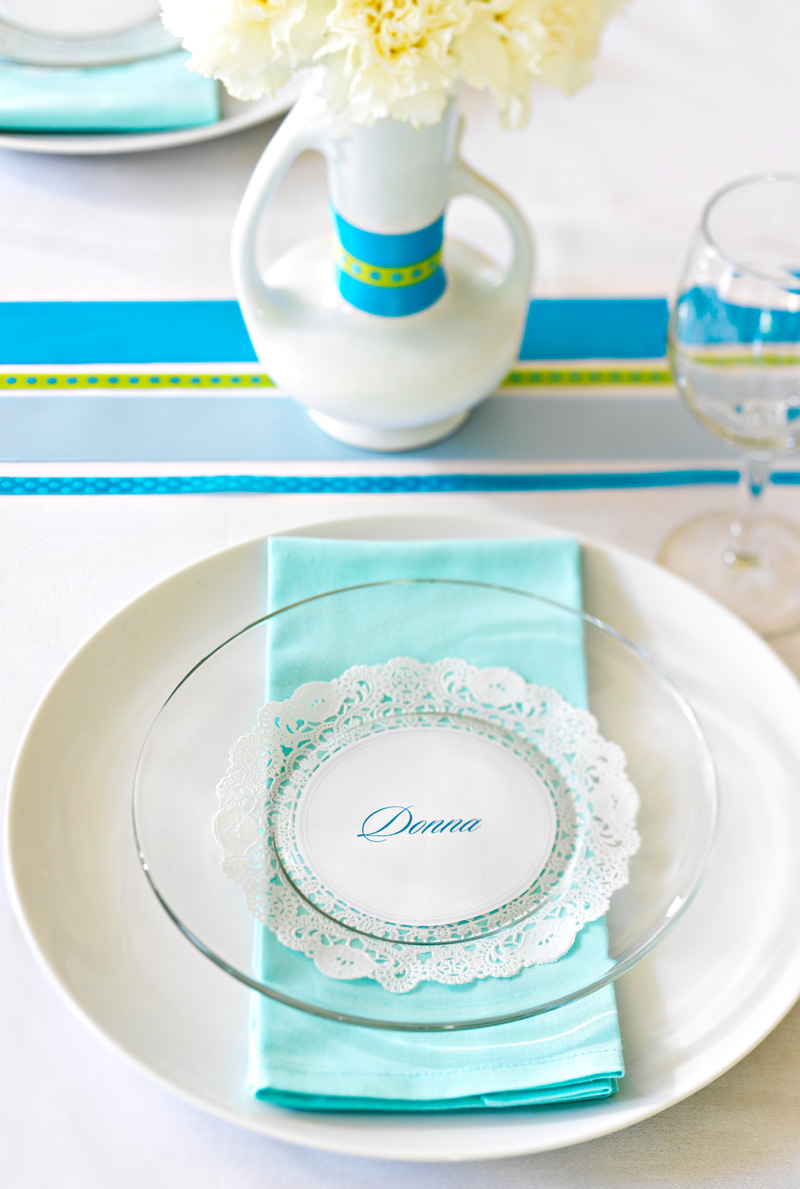 Easy place settings