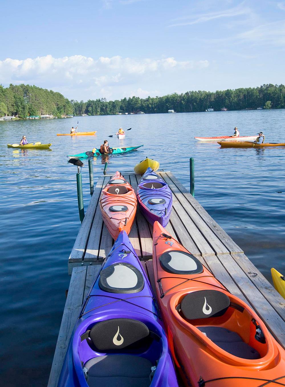 Quintessential resort feel in Minocqua area, Wisconsin