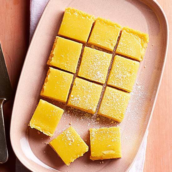 Puckery Lemon Bars