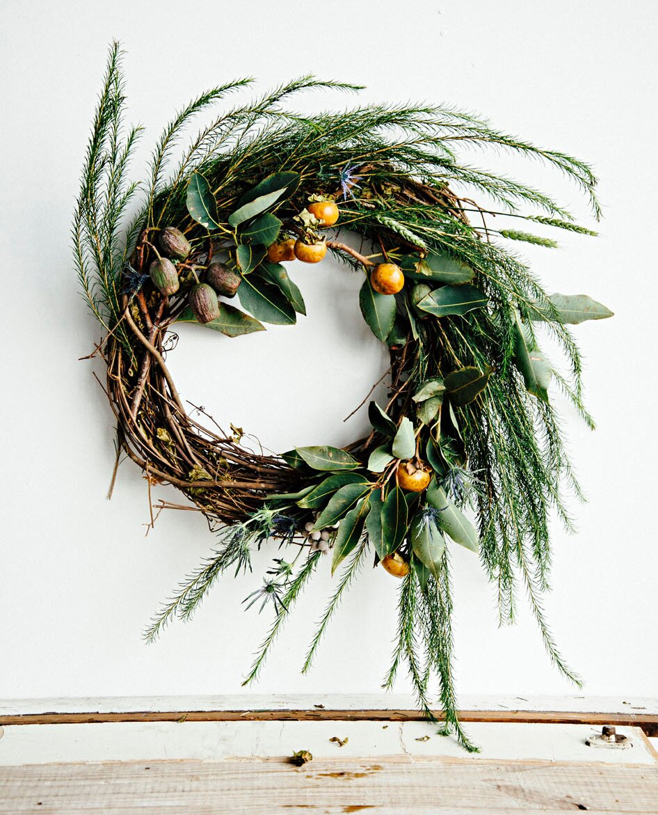 Non Christmas Winter Wreaths.50 Beautiful Holiday Wreaths Midwest Living