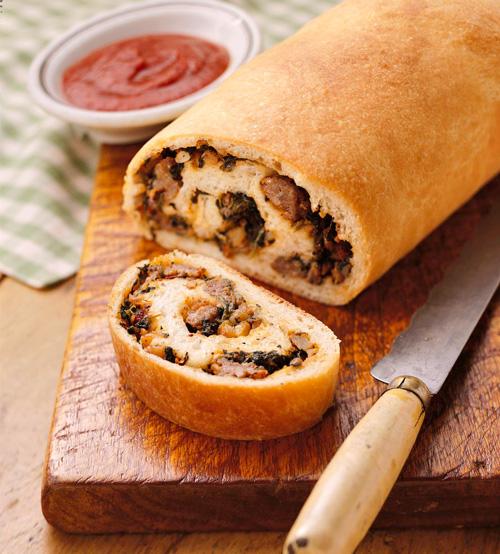 Salsiccia Bread