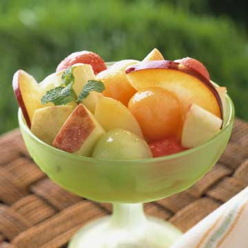 Fruit Bowl with a Punch