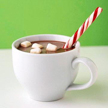 Taste hot cocoa