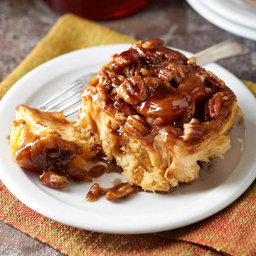 Maple Sweet Potato Sticky Buns