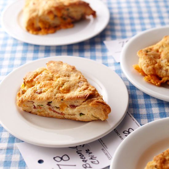 Kansas: Bacon-Cheddar-Chive Scones