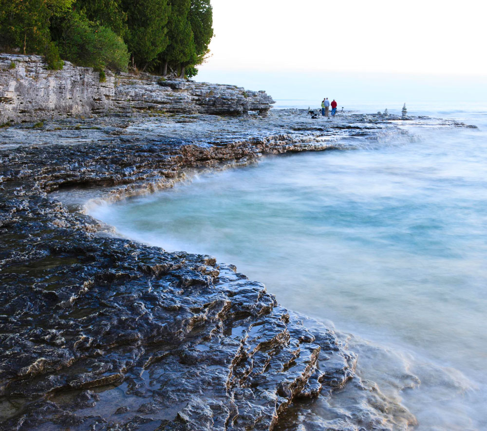 Things to Do in Door County--Cave Point County Park