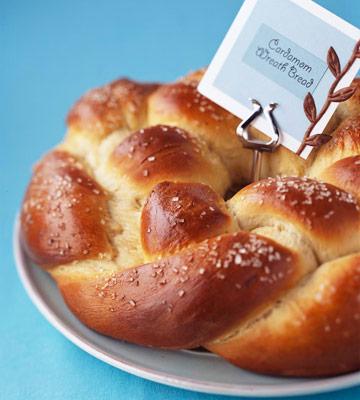 Cardamom Wreath Bread