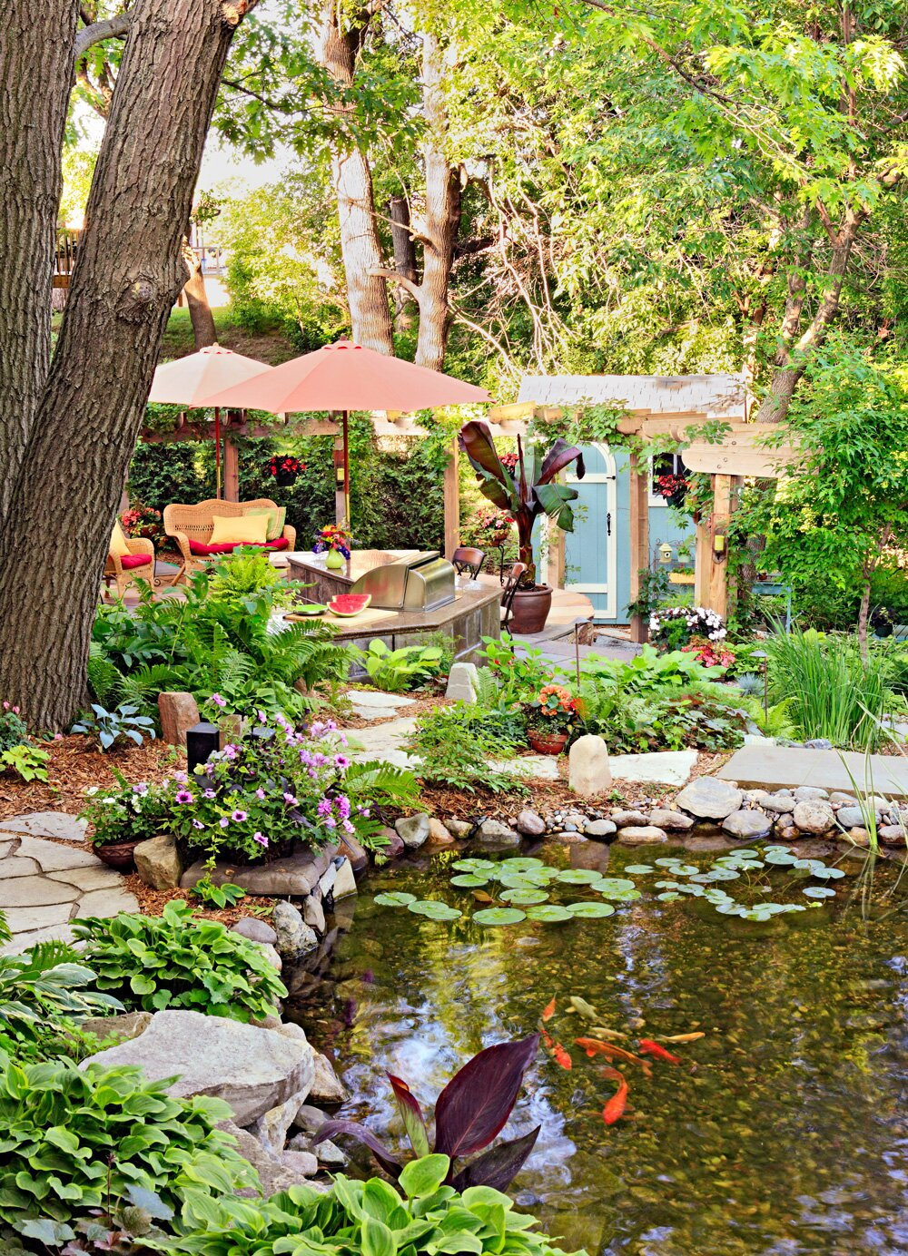 How to Make Your Backyard a Vacation Oasis  Midwest Living
