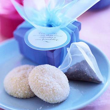 Cardamom Tea Cookies
