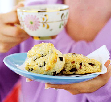 Cranberry and Currant Scones