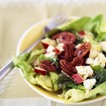 Spiced Pecan-Apple Salad