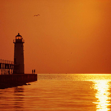 Michigan's landmarks and lakeshores