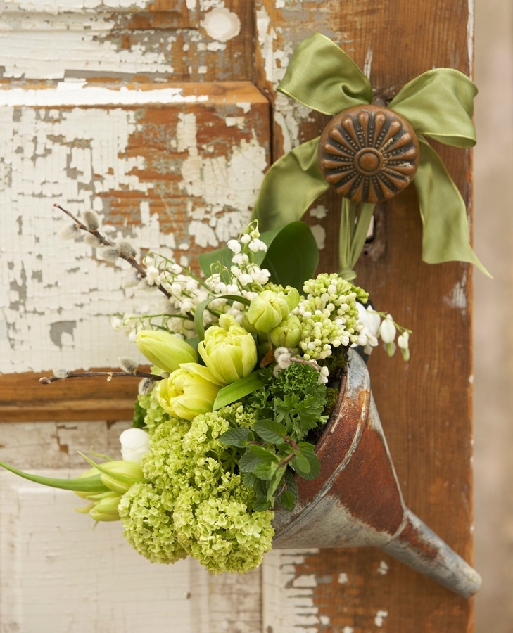 Doorknob bouquet