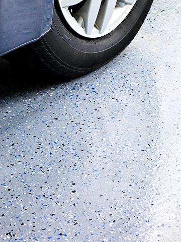 Garage floor camouflage
