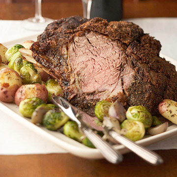 Oven-Roasted Prime Rib with Dry Rib Rub