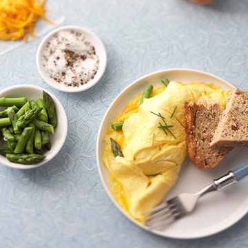 Make a 40-second omelet