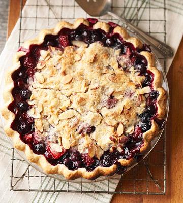 North Dakota Juneberry Pie