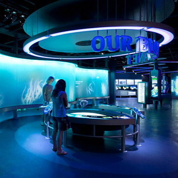 Dubuque, Iowa: National Mississippi River Museum and Aquarium