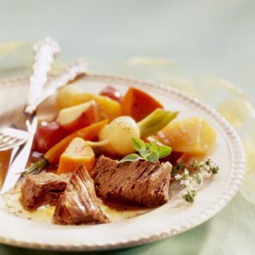 Menu #1: Old-fashioned pot roast dinner