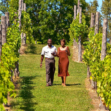 Sturgeon Bay, Wisconsin: Simon Creek Vineyard and Winery
