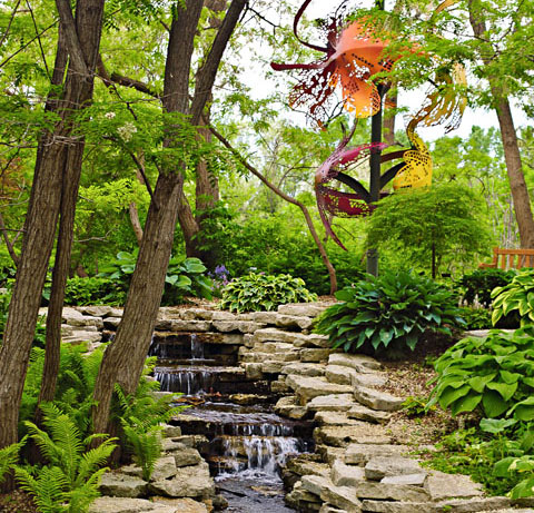 Lauritzen Gardens. Photo courtesy of Lauritzen Gardens.
