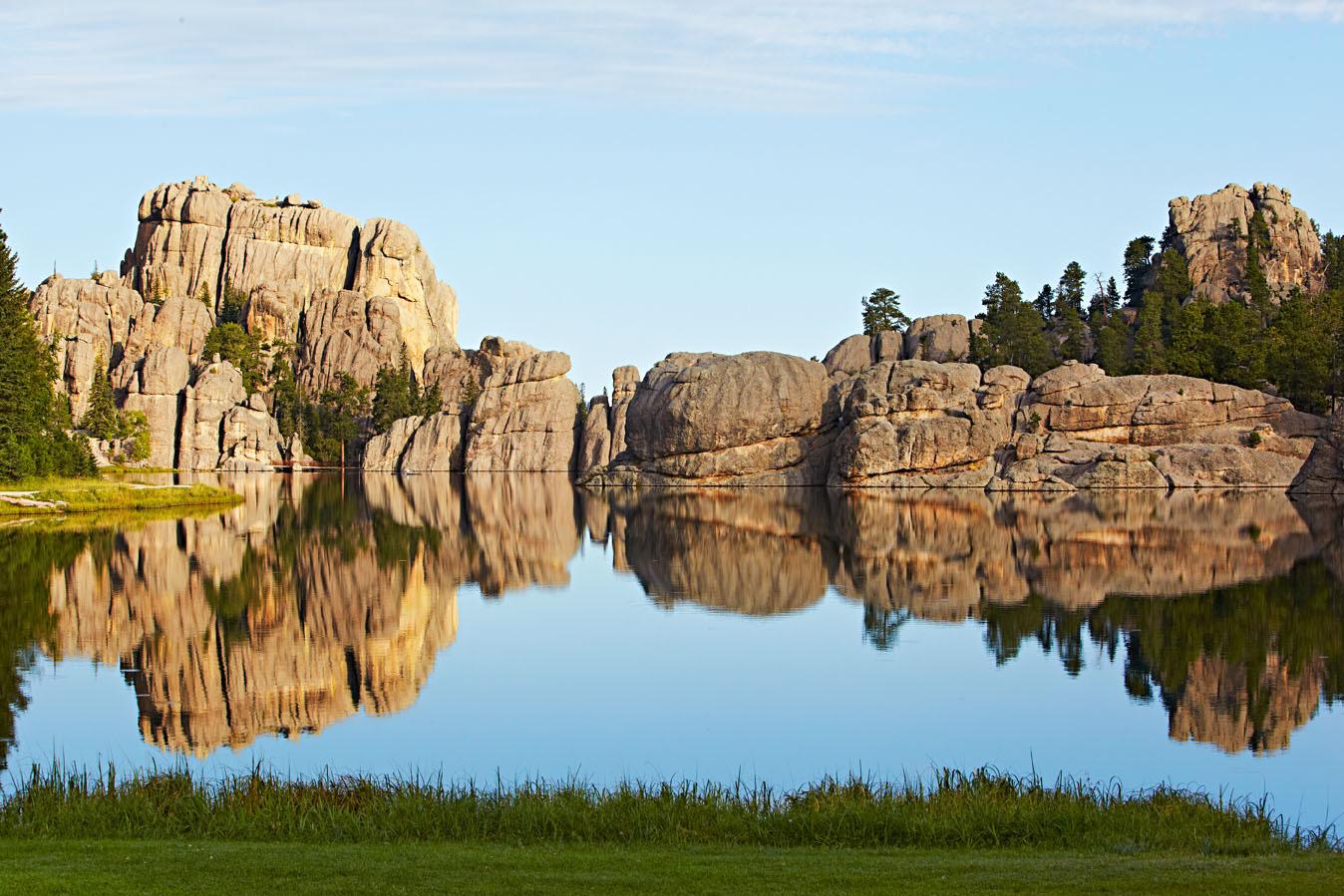 Sylvan Lake in Custer State Park