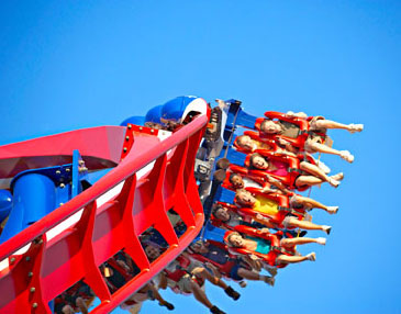 Worlds of Fun. Photo courtesy of Kansas City Convention and Visitors Bureau.