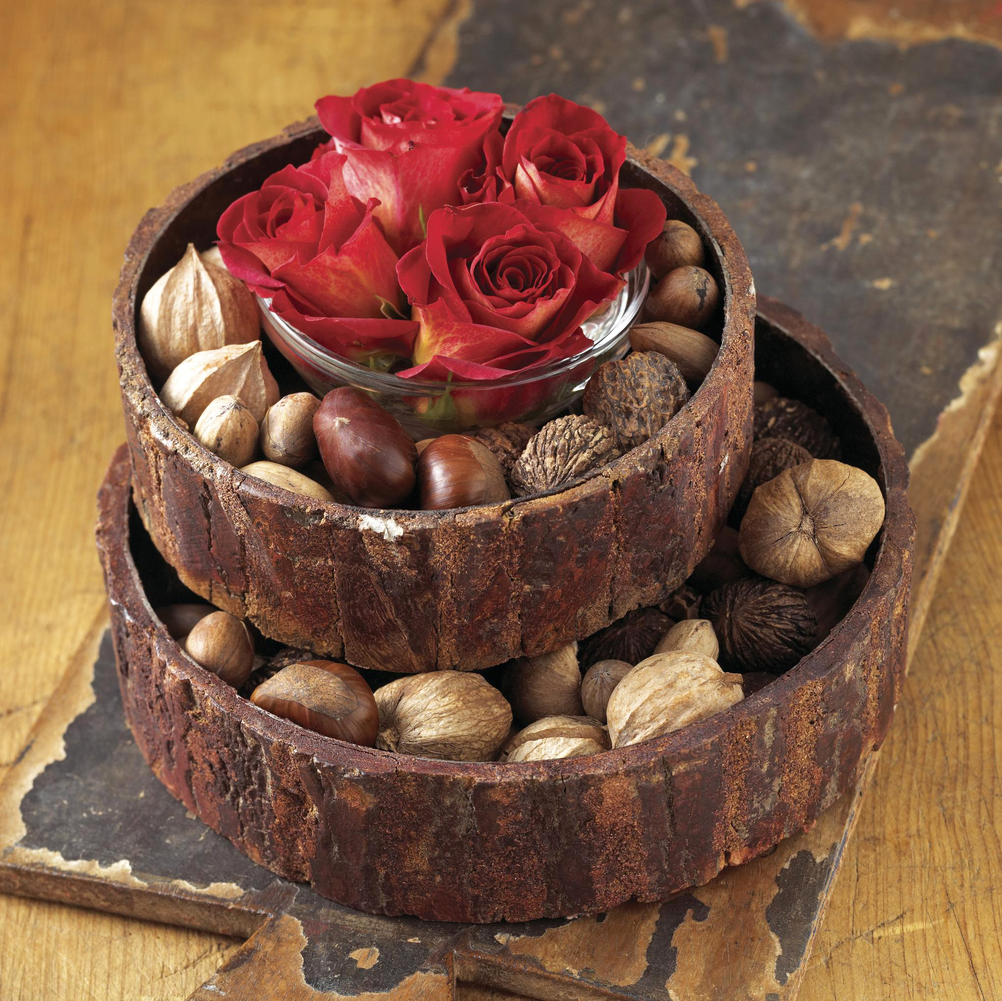 Nuts and roses