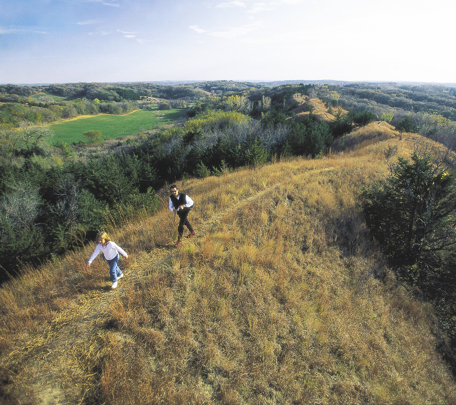 Iowa: Loess Hills National Scenic Byway