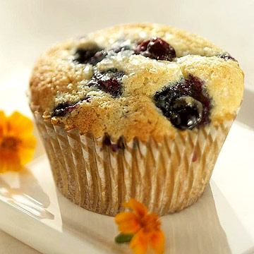 Mary Lou's Blueberry Muffins