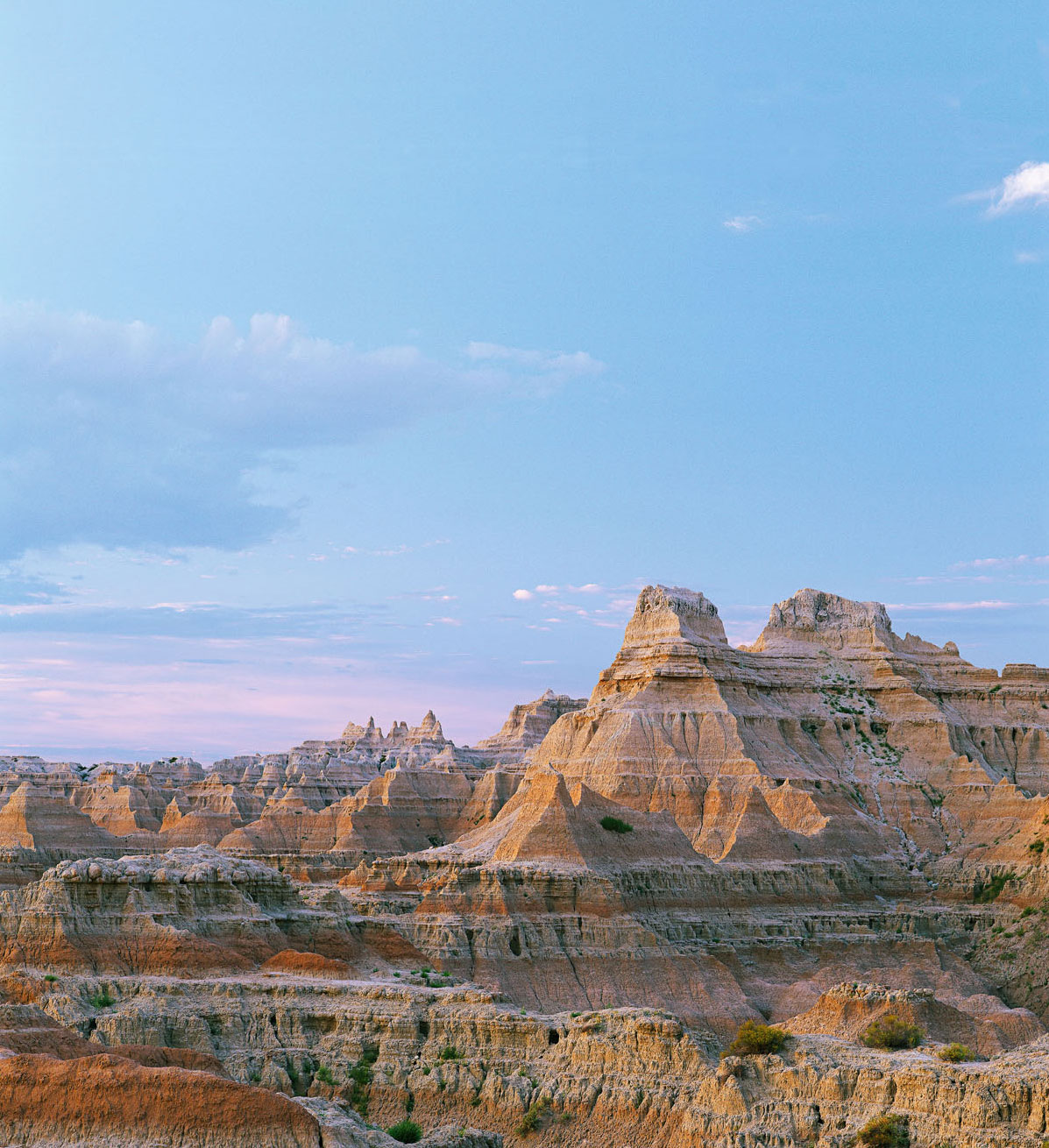 Badlands and Rapid City, South Dakota